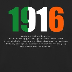 1916 Easter Rising and Proclamation Unisex Hoodie