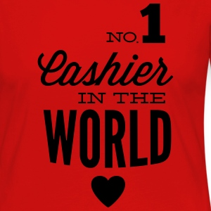 Best cashier of the world Langarmshirts - Frauen Premium Langarmshirt