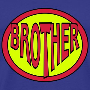 Super, Superheld, Superheldin, Hero, Brother T-Shirts - Men's Premium T-Shirt
