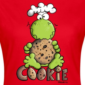 Frog with Cookie T-Shirts - Women's T-Shirt
