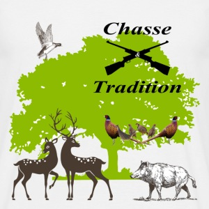 chasse tradition - T-shirt Homme