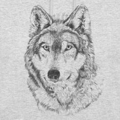 Wolf Hoodies & Sweatshirts