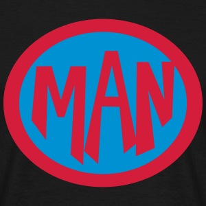 Super, Superheld, Superheldin, Hero, Man T-Shirts - Men's T-Shirt
