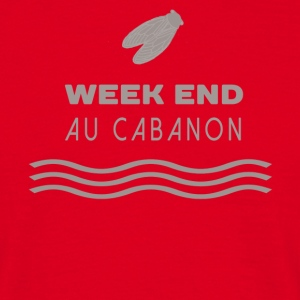 Week end au cabanon Tee shirts - T-shirt Homme