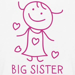 Big Sister Long Sleeve Shirts - Kids' Premium Longsleeve Shirt