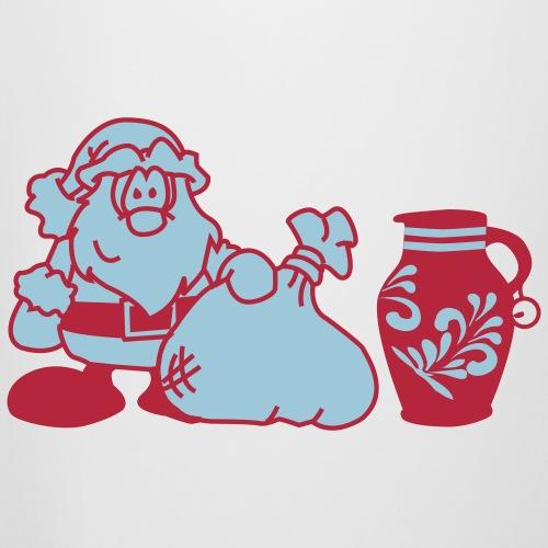 Weihnachtsmann mit Bembel
