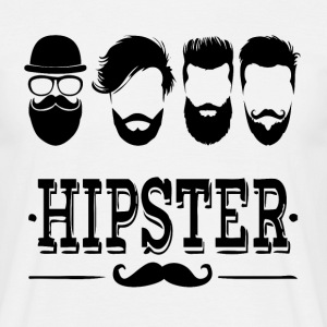 hipster style Tee shirts - T-shirt Homme