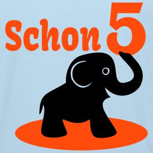 """Geburtstag T-Shirts mit """"Schon 5 Geburtstag"""""""