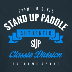 Stand Up Paddle Extreme Sport W&B Art - Women's T-Shirt