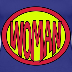 Super, Superheld, Superheldin, Hero, Woman T-Shirts - Frauen Premium T-Shirt