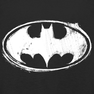 Batman Dark white Women T-Shirt - Långärmad premium-T-shirt barn