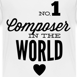 Best composer in the world Shirts - Kids' Premium T-Shirt