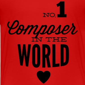 Beste componist in de wereld Shirts - Teenager Premium T-shirt