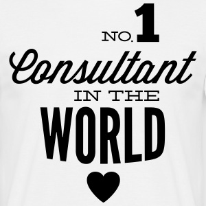 Best consultant of the world T-Shirts - Men's T-Shirt