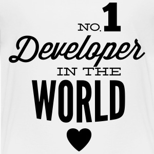 Best developers in the world Shirts - Teenage Premium T-Shirt