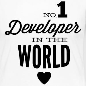 Best developers in the world Long Sleeve Shirts - Women's Premium Longsleeve Shirt