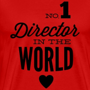 Best Director in the world T-Shirts - Men's Premium T-Shirt