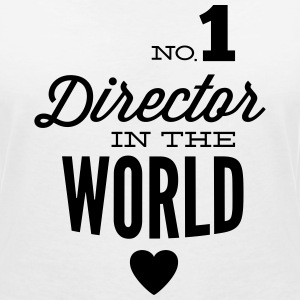 Best Director in the world T-Shirts - Women's V-Neck T-Shirt