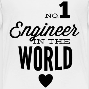 Best engineer of the world Shirts - Kids' Premium T-Shirt