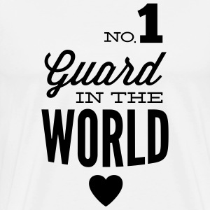 Best guard of the world T-Shirts - Men's Premium T-Shirt