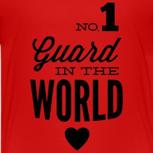 Best guard of the world Shirts - Teenage Premium T-Shirt