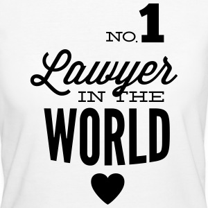 Best lawyer in the world T-Shirts - Women's Organic T-shirt