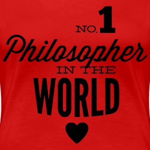 Best philosopher of the world T-Shirts - Women's Premium T-Shirt