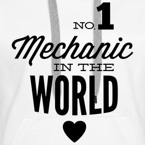 Best mechanic of the world Hoodies & Sweatshirts - Women's Premium Hoodie