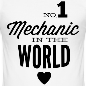 Bester Mechaniker der Welt T-Shirts - Männer Slim Fit T-Shirt