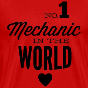 Best mechanic of the world T-Shirts - Men's Premium T-Shirt
