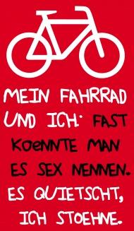 fahrrad sprüche lustig