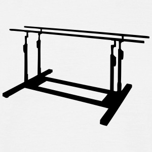 parallel bars T-shirts - Herre-T-shirt