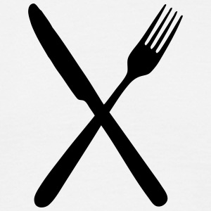 Fork and knife T-Shirts - Men's T-Shirt