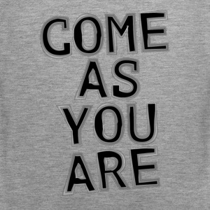 Come As You Are Tank Tops - Männer Premium Tank Top
