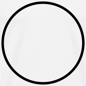 Round Circle Runde Cercle Rond Kreis - Custom it ! T-Shirts - Men's Premium T-Shirt