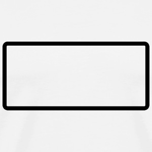 Rectangle - Rechteck - Form - Customize it ! T-Shirts - Men's Premium T-Shirt