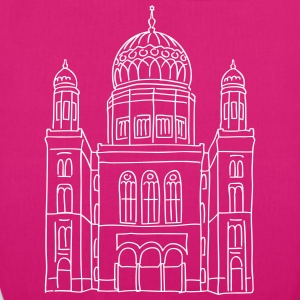 New Synagogue Berlin Bags & Backpacks - EarthPositive Tote Bag
