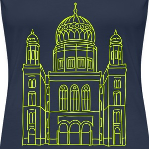 New Synagogue Berlin T-Shirts - Women's Premium T-Shirt