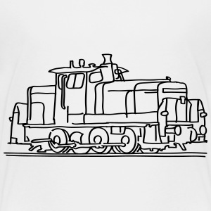 Diesel locomotive Shirts - Kids' Premium T-Shirt