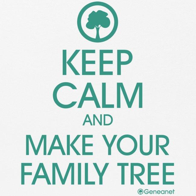 Tapis de souris - Keep calm and make your family tree