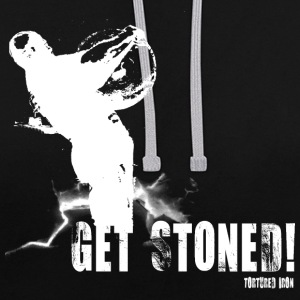 ATLAS STONES, GET STONED - Contrast Colour Hoodie