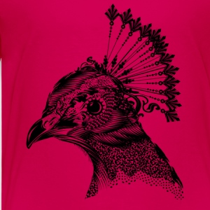 A peacock head Shirts - Kids' Premium T-Shirt