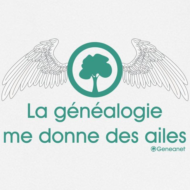 Tablier - La généalogie me donne des ailes
