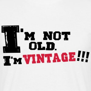 i'm vintage Tee shirts - T-shirt Homme