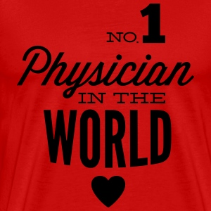 Best doctor in the world T-Shirts - Men's Premium T-Shirt