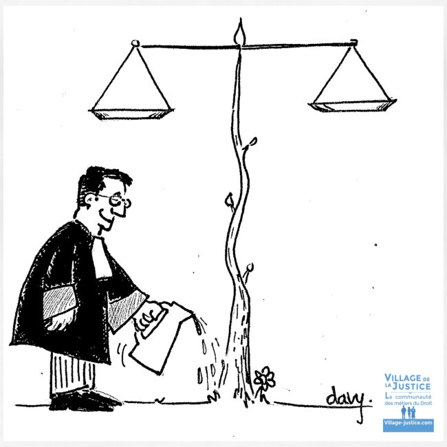 La Justice ne grandit pas seule...