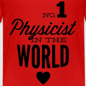 Best physicist of world Shirts - Kids' Premium T-Shirt