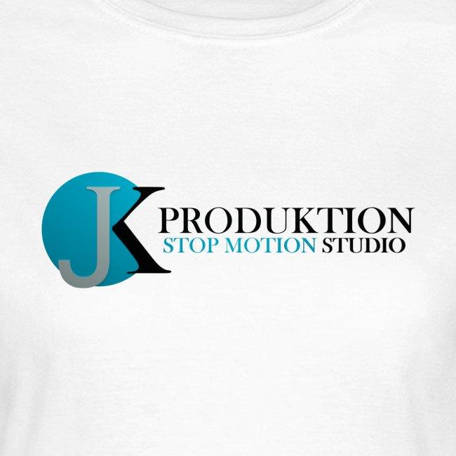 JK Schriftzug Frauen T-Shirt