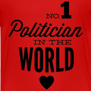 Beste politicus in de wereld Shirts - Teenager Premium T-shirt
