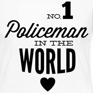 Best COP in the world Long Sleeve Shirts - Women's Premium Longsleeve Shirt